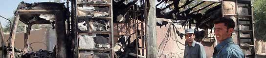 Zapatero recibirá en la base de Torrejón los féretros de los fallecidos en Afganistán  (Imagen: EFE)