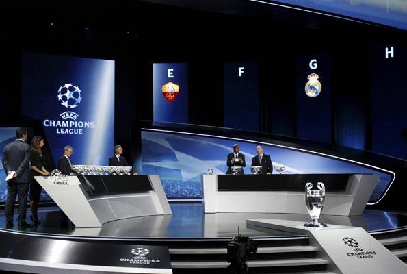 Sorteo de la Liga de Campeones en Mónaco