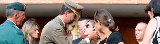Funeral por los guardias civiles