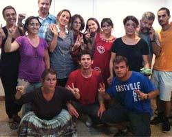 Activistas españoles en El Aaiún