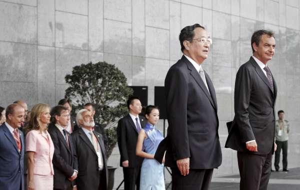 Zapatero en la Expo de Shangai