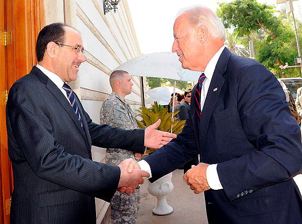 Biden en Irak