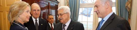 Netanyahu y Abás se comprometen a reunirse cada 15 días para lograr la paz  (Imagen: EFE)
