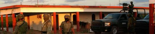 Sicarios muertos en México
