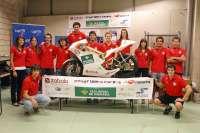 El equipo ETSIIT-UPNA Racing probará este mes en el Circuito de Los Arcos la moto de competición que ha diseñado