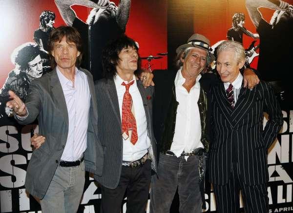 Los Rolling Stones planean una gira mundial para su 50 aniversario