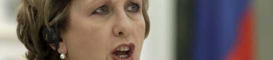La presidenta de Irlanda, Mary McAleese