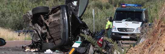Accidente en Badajoz con siete muertos