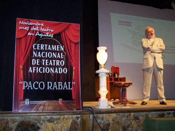 Seleccionadas las obras del VII Certamen Nacional de Teatro Aficionado 'Paco Rabal'