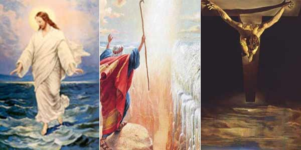 Milagros en la Biblia