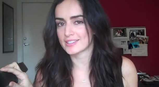 Ana de la Reguera en su vídeo 'Ana Sexy'