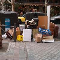 Cantabria registró en 2008 los mayores valores per capita de recogida de residuos mezclados, 578,8 kilos persona-año