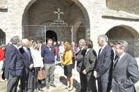 Las obras de restauración de la Iglesia de Linás de Broto suponen una inversión de casi 400.000 euros