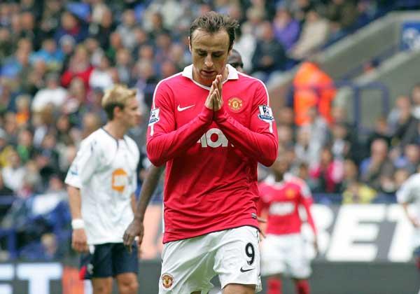 Dimitar Berbatov, del Manchester United