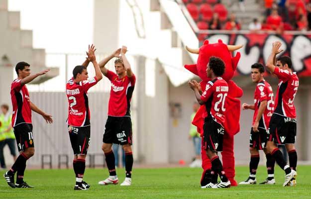 Los jugadores del Mallorca