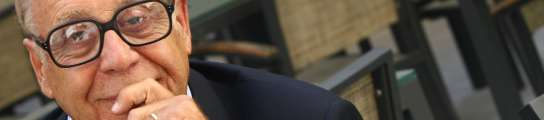 """Jean Ziegler: """"La solución al hambre no es dar más, sino robar menos"""" (Imagen: JORGE PARÍS.)"""