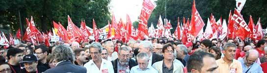 """29-S: """"Éxito indiscutible"""" para los sindicatos y respuesta """"desigual"""" para el Gobierno  (Imagen: JORGE PARÍS)"""