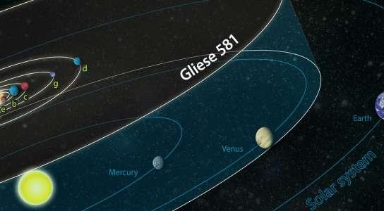 Un planeta habitable fuera del sistema solar