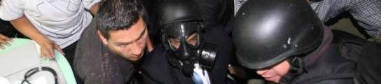 Los militares liberan a Correa en medio de un tiroteo con policías sublevados  (Imagen: EFE)