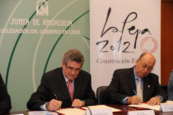 Consorcio firma el convenio que recoge la celebración de una procesión Magna el Sábado Santo del 2012