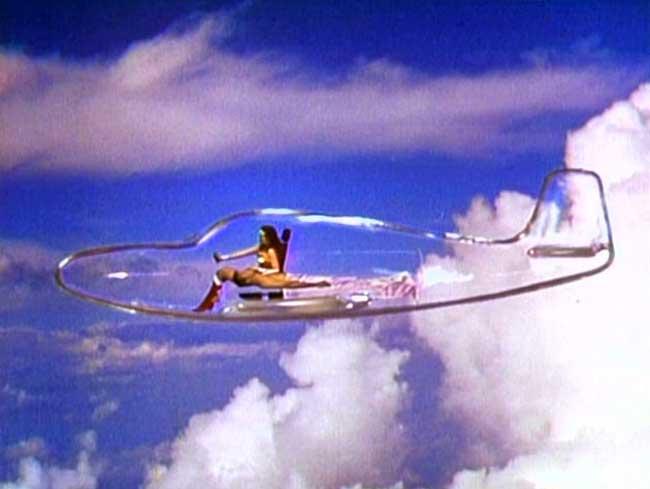 Aviones transparentes
