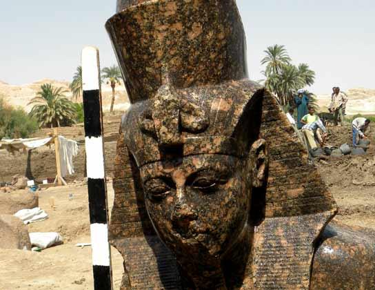 Descubrimiento en Egipto