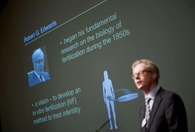 Robert Edwards, Nobel de Medicina