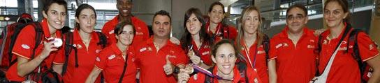 Las chicas del baloncesto llegan a España con un bronce histórico en un Mundial  (Imagen: EFE)