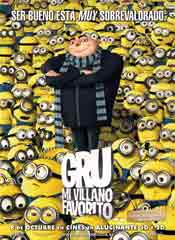 Gru. Mi villano favorito - Cartel