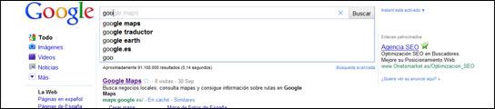 ¿Puede Google Instant hacer inútiles las técnicas SEO para posicionar contenidos?  (Imagen: GOOGLE)