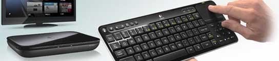 Logitech presenta su dispositivo físico para acceder a Google TV  (Imagen: Logitech)