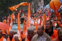 <p>Manifestación en Bruselas - 200</p>