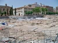 La plataforma ciudadana 'Vigilante de San Esteban' se manifiesta para pedir la declaración BIC de los restos