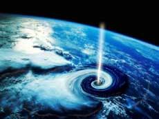 <p>Agujero negro en la Tierra (imagen ficticia).</p>