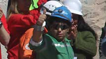 El rescate de los 33 mineros atrapados en la mina San José