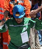 <p>Rescate de los mineros de Chile</p>