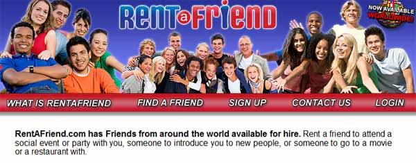 ¿Cuánto dinero cuesta alquilar un amigo?