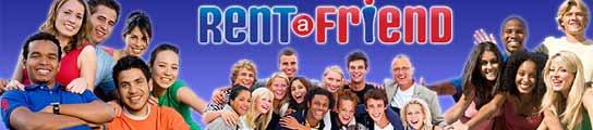 La web Rent a Friend ofrece amigos en alquiler