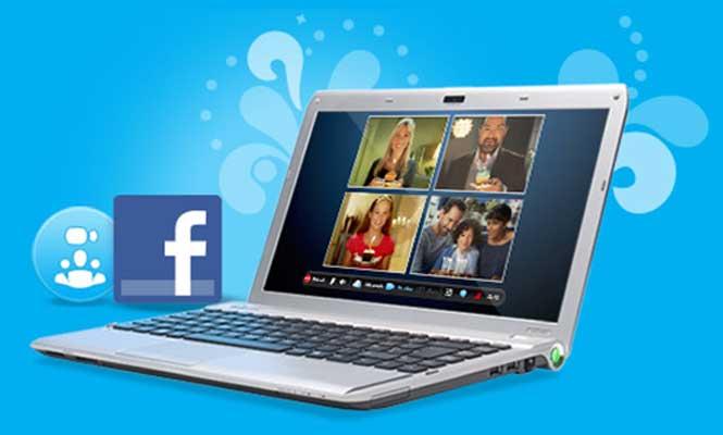 Ahora Facebook habla y Skype es más social