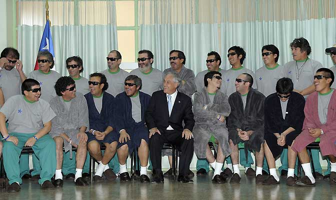 Los 33 mineros de Chile