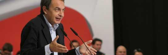 Zapatero agradece a PNV y CC su apoyo en los Presupuestos y advierte a Rajoy