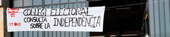 Participación ínfima en la quinta oleada de consultas independentistas en Cataluña  (Imagen: EFE)