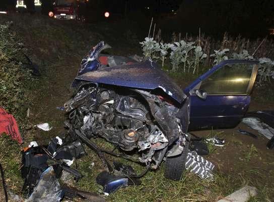 Un accidente en Ponteareas