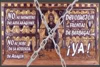 Tres ayuntamientos oscenses piden autorización para realizar una concentración y exigir el retorno de bienes artísticos