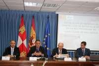 Subdelegación del Gobierno y Diputación de Valladolid instalarán 12 kilómetros de barreras de protección para motoristas