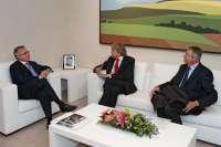 Sanz y el embajador de Alemania en España muestran su interés por intensificar las relaciones en ámbitos de la economía