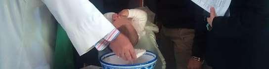 El bautizo de Daniela