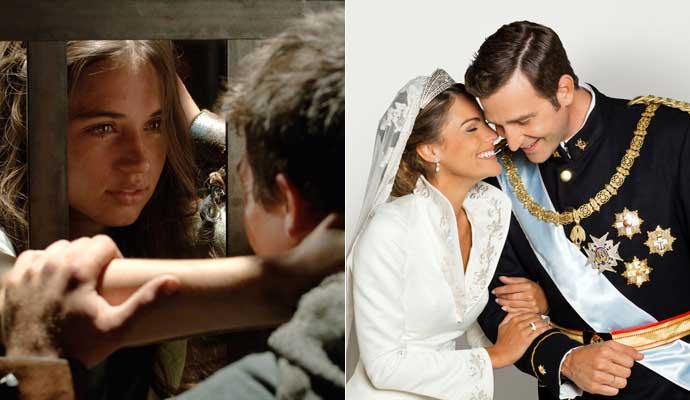 Hispania y Letizia y Felipe