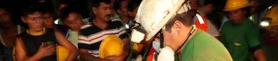 El milagro de Chile no se repite en Ecuador, donde hallan a los dos mineros muertos  (Imagen: José Jácome / EFE)