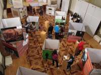 El Centro Cultural El Molino de Utebo alberga la exposición educativa 'De profesión ciudadanos'